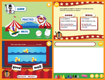Carnival Grammar: Good and Well Screens