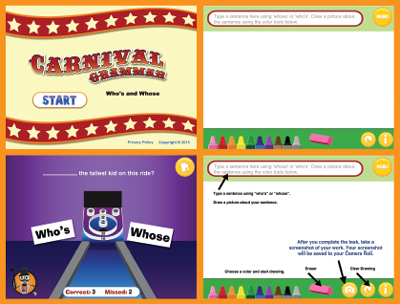 Carnival Grammar: Who's and Whose Screens
